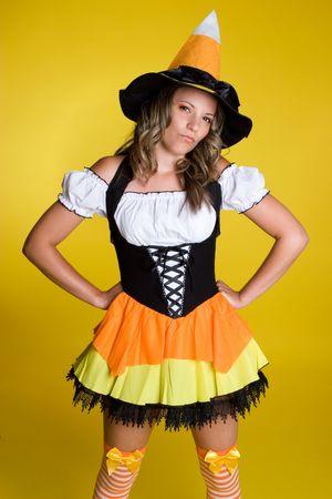 Halloween Woman Stock Photo - 3495406