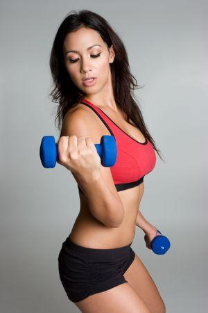 Exercise Woman Stock Photo