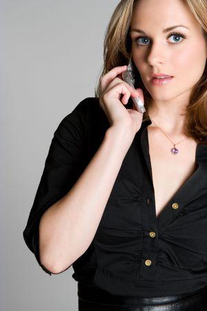 Phone Woman Stock Photo - 3551529
