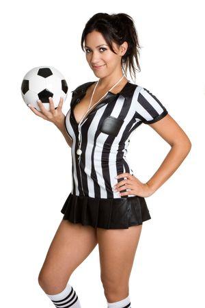 falda corta: Mujer �rbitro