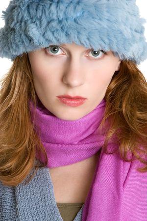 Pretty Hat Woman photo