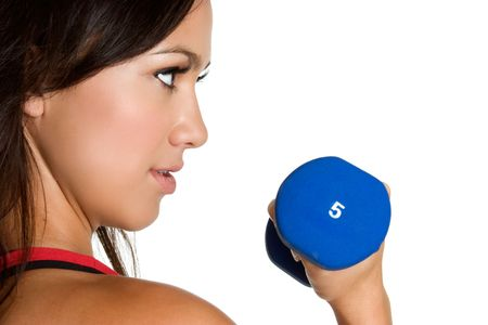 Young Girl Working Out Stock Photo - 3591034