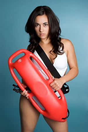 Female Lifeguard Stock Photo - 3641287