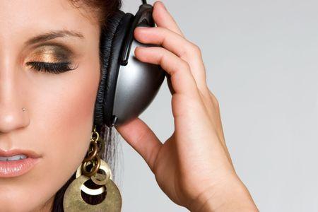 ear phones: Music Listening Girl