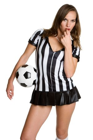 Referee With Ball photo