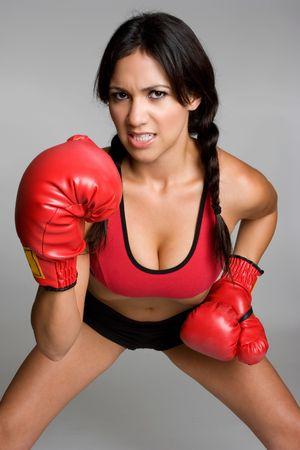 Female Boxer Stock Photo - 3653823