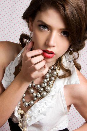 jewelry model: Classic Woman