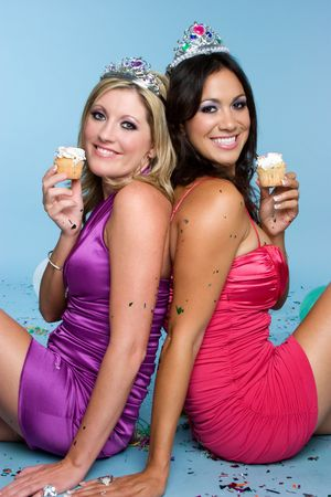 Cupcake Girls Stock Photo - 3717551