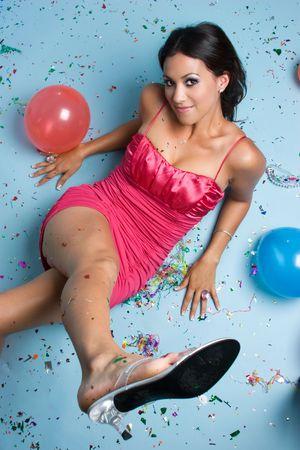 Teenage Party Girl Stock Photo - 3717555
