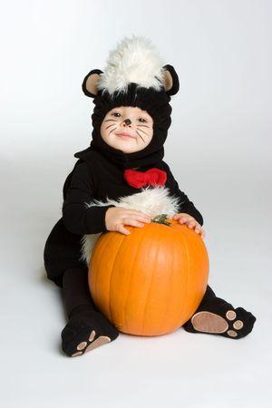 stinktier: Happy Skunk