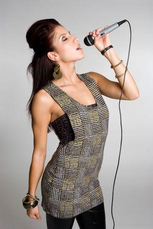 Singing Teenager
