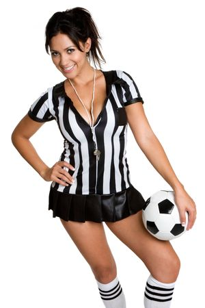 costume ball: Soccer Referee Stock Photo