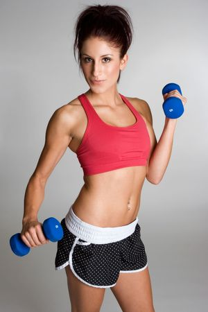 Girl Working Out Stock Photo - 3803540