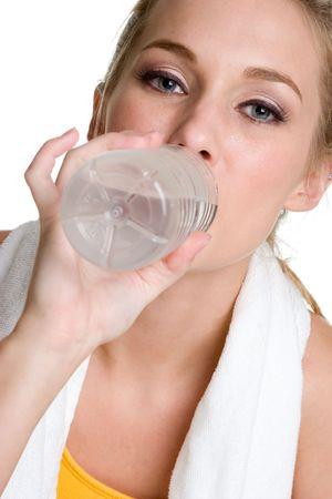 Teen Drinking Water Stock Photo - 3813328