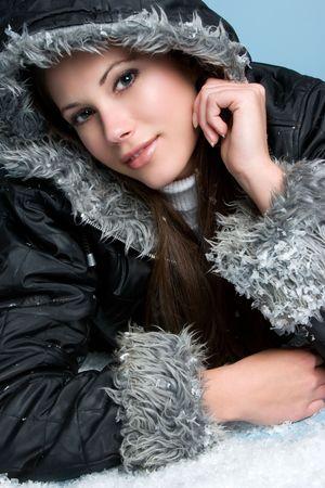 warm jacket: Grinning Teen