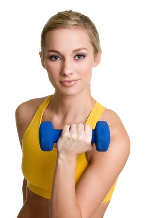 Teen Working Out photo