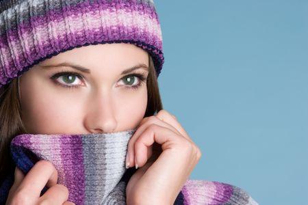 scarves: Winter Woman