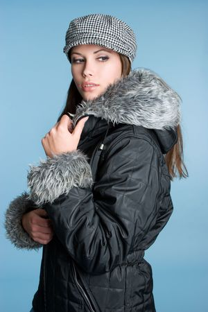 Winter Fashion Girl Stock Photo - 3906306