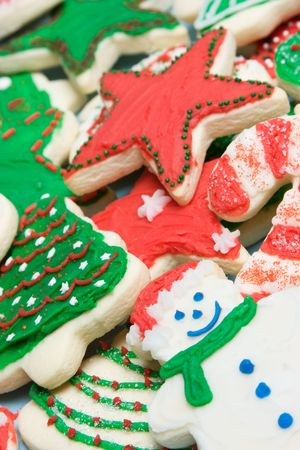 Holiday Cookies Stock Photo - 3963206