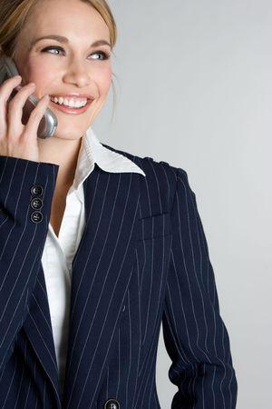 Businesswoman on Phone Stock Photo - 3967501