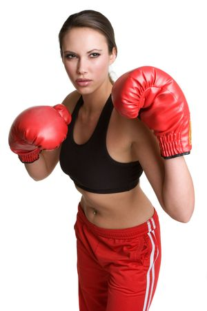 gloves women: Boxing Woman