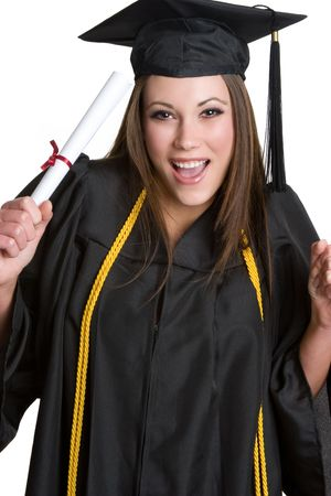 Graduating Girl Stock Photo - 4055970