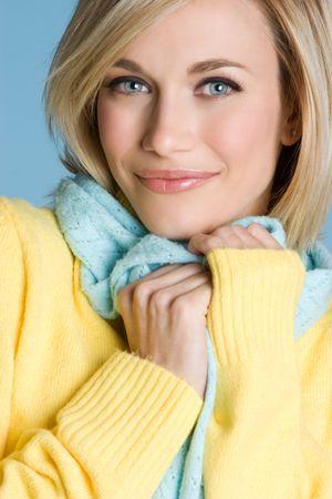 Beautiful Winter Woman Stock Photo - 4055982