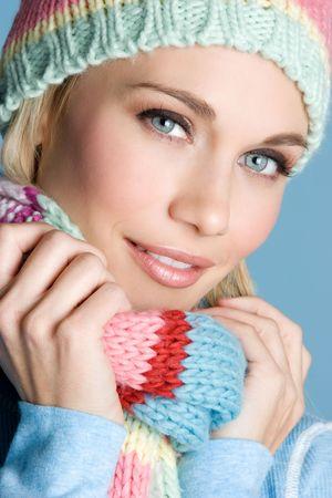 fille hiver: Winter Girl Banque d'images
