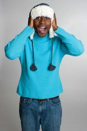 beanies: El hombre sorprendi� Invierno