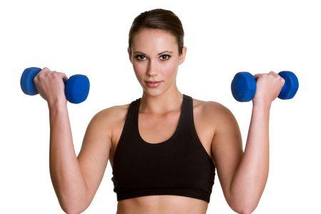 Woman Exercising Stock Photo - 4055803