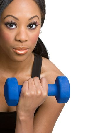 Girl Working Out Stock Photo - 4079314