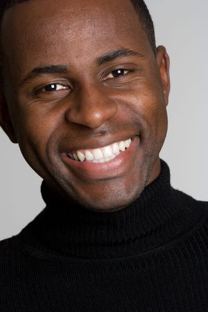 Smiling African American Man Stock Photo - 4118778