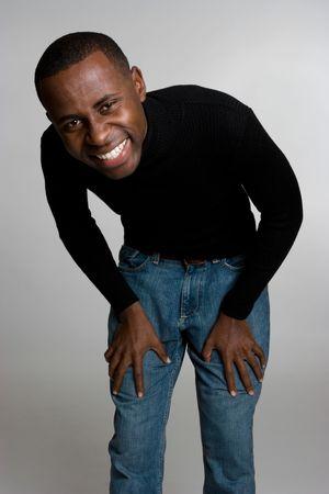 Laughing Man Stock Photo - 4160891