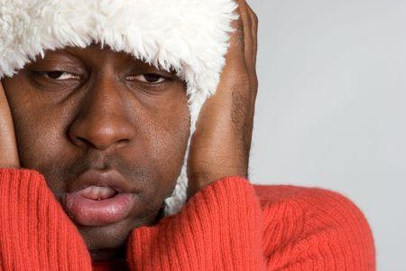 Cold Winter Man Stock Photo - 4160888