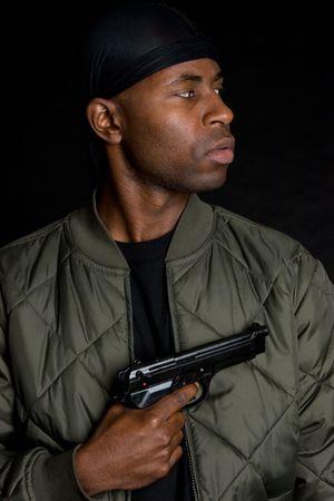 gun man: Man With Gun
