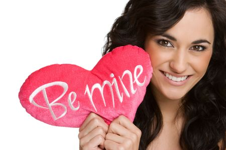 Valentine Girl Stock Photo - 4160887