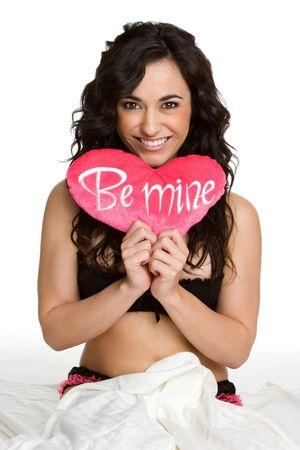 Valentines Day Woman photo