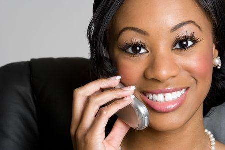 Businesswoman on Phone Stock Photo - 4194802