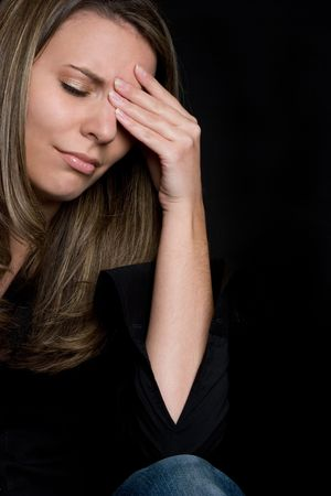 Depressed Woman Stock Photo - 4222478