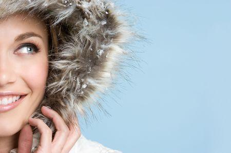 winter jacket: Pretty Winter Teen
