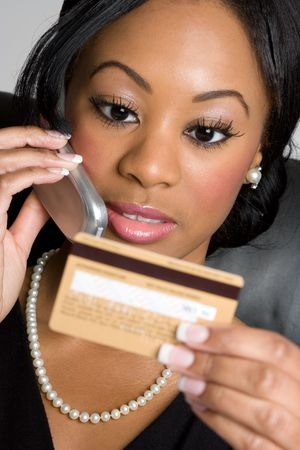Credit Card Woman Stock Photo - 4222487