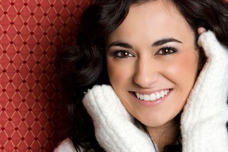Smiling Woman Banco de Imagens
