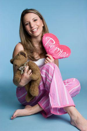 Valentine's Woman Stock Photo - 4235571