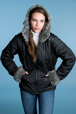 Winter Fashion Girl Stock Photo - 4270279