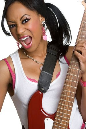 African American Musician Stock Photo - 4270273