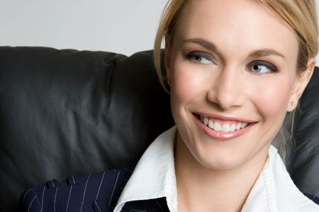 Smiling Businesswoman Stock Photo - 4282544