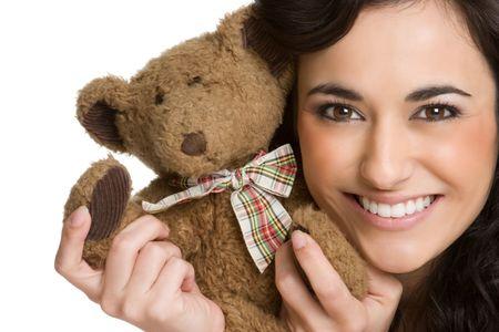 Girl With Teddy Bear Stock Photo - 4282548