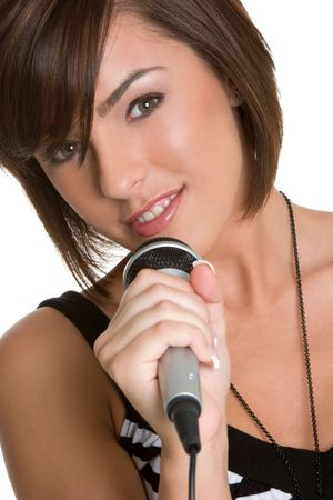 Singing Teen Stock Photo - 4303454