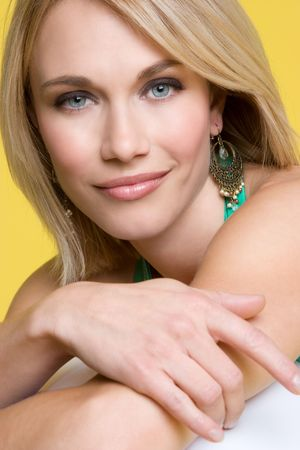 smirking: Blond Girl