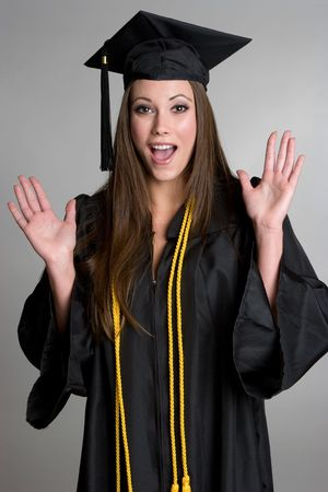 Surprised Graduate Stock Photo - 4303453